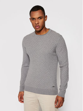 Joop! Joop! Sweater 17 Jk-15Mads 30024738 Szürke Regular Fit