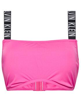Calvin Klein Swimwear Calvin Klein Swimwear Верх від купальника Bandeau Plus KW0KW01390 Рожевий