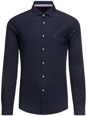 Tommy Hilfiger Tailored Tommy Hilfiger Tailored Риза Poplin Classic TT0TT06391 Тъмносин Slim Fit