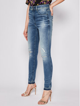 G-Star RAW G-Star RAW Skinny Fit Jeans Kafey Ultra Ankle D16820-8968-B149 Dunkelblau Skinny Fit