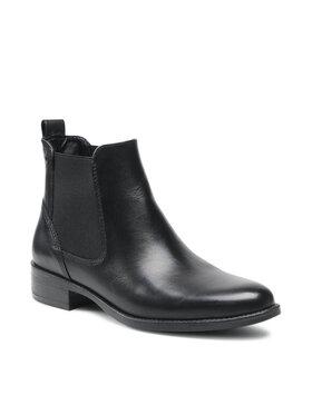 Tamaris Tamaris Členková obuv s elastickým prvkom 1-25020-27 Čierna
