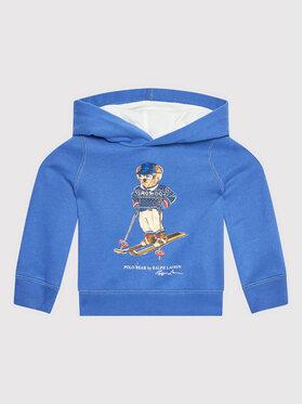 Polo Ralph Lauren Polo Ralph Lauren Bluza Po Hood 312853426001 Niebieski Regular Fit