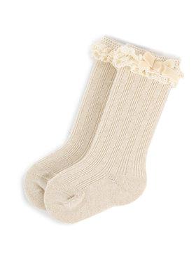 Mayoral Mayoral Vysoké detské ponožky 10636 Béžová