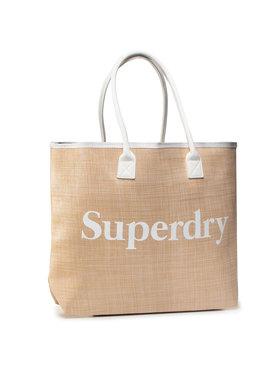 Superdry Superdry Дамска чанта W9110006A Бежов
