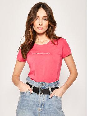 Emporio Armani Emporio Armani T-Shirt 163139 0P263 00776 Różowy Regular Fit