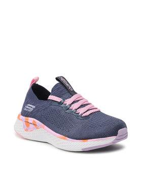 Skechers Skechers Sneakersy Solar Fuse 302040L/NVMT Tmavomodrá