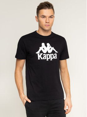 Kappa Kappa T-Shirt Caspar 303910 Černá Regular Fit