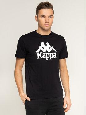 Kappa Kappa Tričko Caspar 303910 Čierna Regular Fit