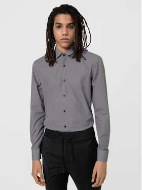 Hugo Hugo Marškiniai Kenno 50443550 Pilka Slim Fit