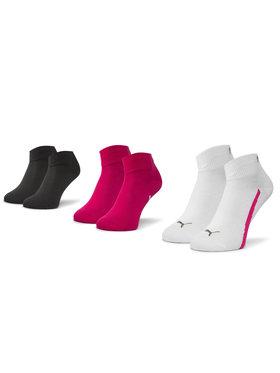 Puma Puma Súprava 3 párov členkových dámskych ponožiek Key Features 886413 02 Biela