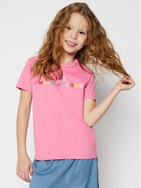 Little Marc Jacobs Little Marc Jacobs T-Shirt W15510 S Różowy Regular Fit
