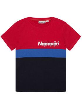 Napapijri Napapijri T-Shirt K Saloy Cb NP0A4EQE S Bunt Regular Fit
