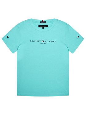 TOMMY HILFIGER TOMMY HILFIGER Marškinėliai Essential Tee KB0KB05844 M Mėlyna Regular Fit