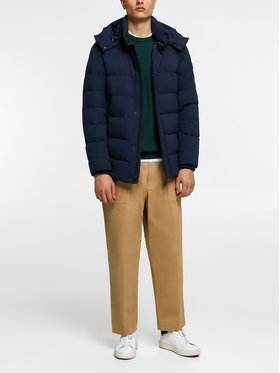 Woolrich Woolrich Zimní bunda WOLOW0009 UT1046 Tmavomodrá Regular Fit
