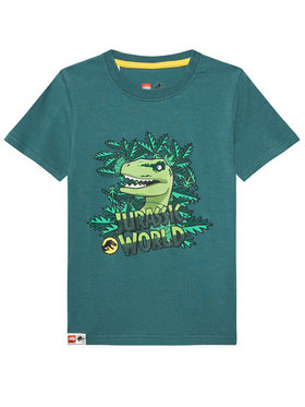 LEGO Wear LEGO Wear Tricou 12010109 Verde Regular Fit