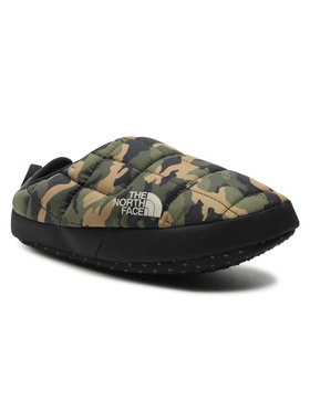 The North Face The North Face Kapcie Thermoball Tntmul5 NF0A3MKNFQ31 Zielony