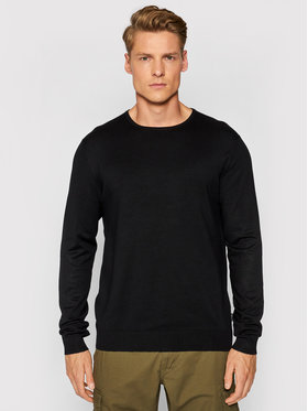 Only & Sons ONLY & SONS Sweter Wyler 22020088 Czarny Regular Fit