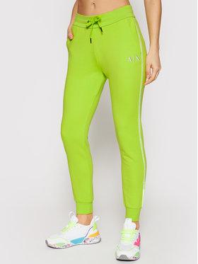 Armani Exchange Armani Exchange Teplákové kalhoty 3KYP85 YJ3NZ 1853 Zelená Regular Fit