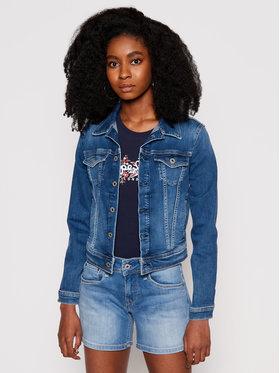 Pepe Jeans Pepe Jeans Kurtka jeansowa Core PL400654EC7 Granatowy Regular Fit