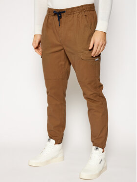 Tommy Jeans Tommy Jeans Jogger kelnės Cargo DM0DM10511 Ruda Regular Fit