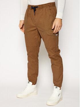 Tommy Jeans Tommy Jeans Jogger nohavice Cargo DM0DM10511 Hnedá Regular Fit