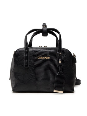 Calvin Klein Calvin Klein Táska Ck Must Bowling Bag Sm Lizard K60K608572 Fekete