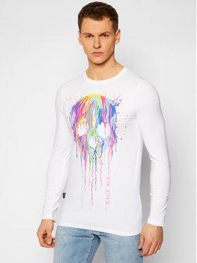 Rage Age Rage Age Тениска с дълъг ръкав Splashskull 2 Бял Regular Fit