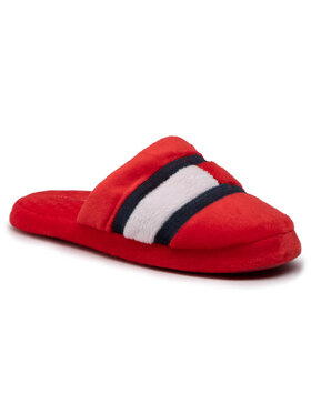 Tommy Hilfiger Tommy Hilfiger Hausschuhe Slipper Red T3B0-30975-1064 S Rot