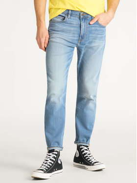 Lee Lee Prigludę (Slim Fit) džinsai Rider L75GMGLP Mėlyna Slim Cropped Fit