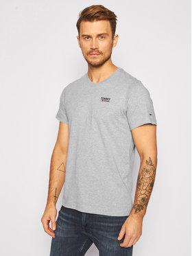 Tommy Jeans Tommy Jeans T-shirt Corp Logo C Neck DM0DM09588 Gris Regular Fit