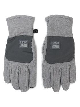 Under Armour Under Armour Pánské rukavice Coldgear Infrared Fleece Gloves 1343217 Šedá