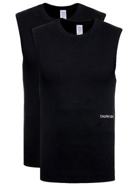 Calvin Klein Underwear Calvin Klein Underwear Súprava 2 topov 000QS6199E Čierna Regular Fit