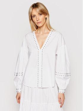 TWINSET TWINSET Блуза 211TT2482 Бял Regular Fit