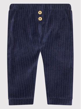 United Colors Of Benetton United Colors Of Benetton Текстилни панталони 3YFQMF271 Тъмносин Regular Fit