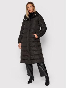 Geox Geox Zimný kabát W Anylla W1428E T2604 F9000 Čierna Regular Fit