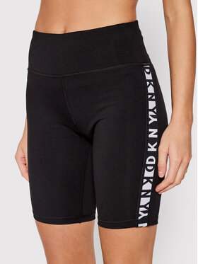 DKNY Sport DKNY Sport Cyklistické šortky DP1S4905 Čierna Skinny Fit