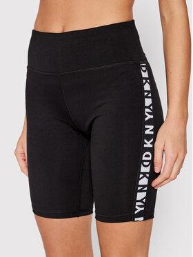 DKNY Sport DKNY Sport Pantaloni scurți de ciclism DP1S4905 Negru Skinny Fit
