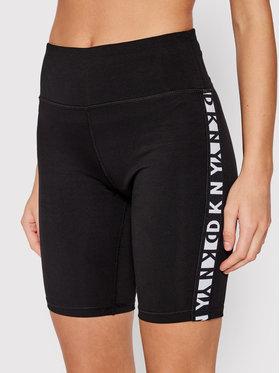 DKNY Sport DKNY Sport Σορτς ποδηλασίας DP1S4905 Μαύρο Skinny Fit