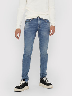 Only & Sons ONLY & SONS Traperice Loom Life 22018653 Tamnoplava Slim Fit