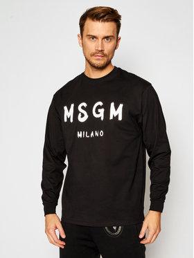 MSGM MSGM Manches longues 2940MM105 207598 Noir Regular Fit