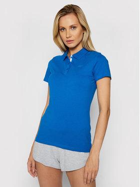 4F 4F Polo marškinėliai NOSH4-TSD008 Tamsiai mėlyna Regular Fit