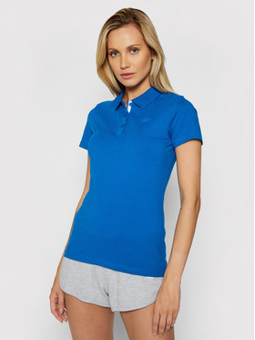 4F 4F Polo NOSH4-TSD008 Blu scuro Regular Fit