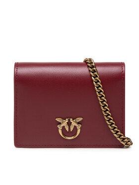 Pinko Pinko Дамска чанта Jolie Simply C. AI 21-22 PLTT 1P22ET Y6XT Бордо