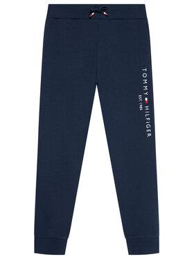 Tommy Hilfiger Tommy Hilfiger Teplákové kalhoty Essential KS0KS00214 Tmavomodrá Regular Fit