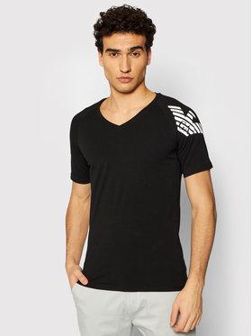 Emporio Armani Underwear Emporio Armani Underwear Tricou 111760 1P725 00020 Negru Slim Fit