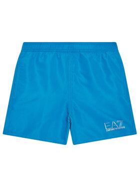 EA7 Emporio Armani EA7 Emporio Armani Pantaloni scurți pentru înot 906005 1P772 19832 Albastru Regular Fit