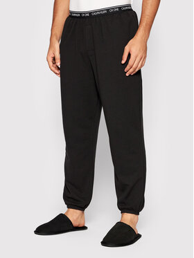Calvin Klein Underwear Calvin Klein Underwear Teplákové kalhoty 000NM1866E Černá Regular Fit