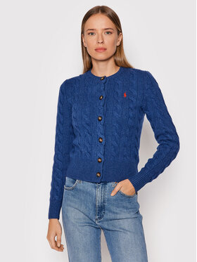 Polo Ralph Lauren Polo Ralph Lauren Strickjacke 211801493010 Blau Regular Fit