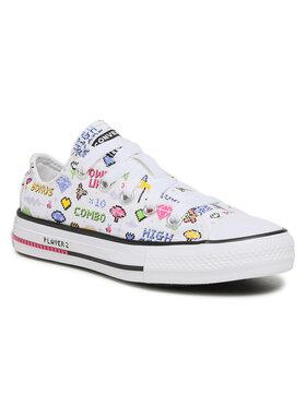 Converse Converse Sneakers aus Stoff Ctas Ox 670171C Weiß