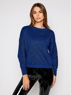 Guess Guess Pullover Tara W0BR68 Z2R70 Blau Comfort Fit